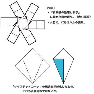 『表裏同等折りの定義』再考
